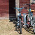Cykelställ av lastpall